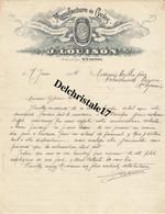 42 0021 ST ÉTIENNE - 1914 - MANUFACTURE DE CYCLES J. LOUISON RUE DE LYON - 1900 – 1949