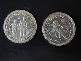 Ile De Man Jeux Olympique De Sarajevo De 1984 - Other