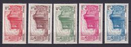 CAMEROUN - YVERT N° 192/196 * MLH - COTE 2020 = 100 EUR. - REVOLUTION - 1939 150e Anniversaire De La Révolution Française