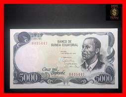 EQUATORIAL GUINEA 5.000 Bipkwele 3.8.1979  P. 17   UNC - Equatorial Guinea