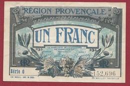 1 Franc  Chambres De Commerce De Marseille  Dans L 'état (197) - Cámara De Comercio