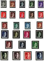 ALLEMAGNE 705/726 + 811 ** Et *(723) Effigie D'Hitler - Unused Stamps