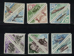 Congo  N° Yvert Taxes 34 / 45 - Repubblica Del Congo (1960-64)