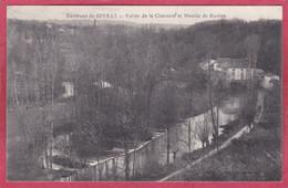 CPA 86 CIVRAY  Environs De -  Vallée De La Charente Et Moulin De Roches - Civray