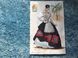 Carte Brodée Grand Canaria  N° 30. Voir  Photos - Borduurwerk