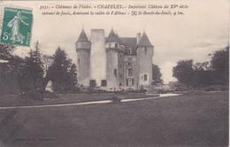 [36] Indre  Chazelet  Le Château  Sur La Vallée De L'abloux - Chateauroux