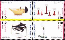 Deutschland Germany Allemagne - Design In Deutschland (MiNr: 2001/4) 1998 - Postfrisch MNH - Unused Stamps
