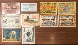 Notgeld 10 Pz 25 Pfennig 5 Mark LOTTO 1908 - [11] Local Banknote Issues