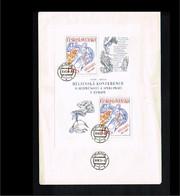 1976 - Europe KSZE FDC Czechoslovakia Mi.Block 33 - Cancel Praha [WP018] - 1976