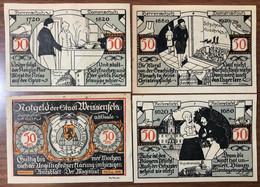 Notgeld 4 Pz 50 Pfennig Weissenfels LOTTO 2525 - [11] Local Banknote Issues