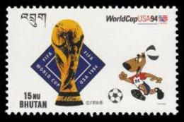 Soccer Football Bhutan #1533 World Cup USA 1994 MNH ** - 1994 – Verenigde Staten