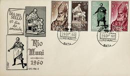 1960 Rio Muni FDC Dia De Sello - Riu Muni