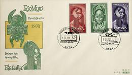 1962 Rio Muni FDC Pro Infancia - Riu Muni