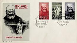 1963 Rio Muni FDC Pro Infancia - Riu Muni