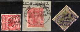 Deutsche Seepost Westafrikanische Linie Auf DR Nr. 47 Und Germania - Non Classés