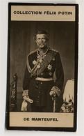 Collection Felix Potin - 1898 - REAL PHOTO - De Manteuffel, Edwin Freiherr Von Manteuffel (de Manteufel) - Félix Potin