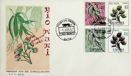 1967 Rio Muni FDC Pro Infancia - Riu Muni
