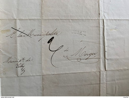 60105 -  Lettre De La Municpalité De Cully Pour La Municpalité De Morges 15.09.1830 - ...-1845 Prefilatelia