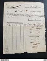 60117 -  Transport Par Voiturier Bernouli & Courvoisier De Bâle à La Chaux-de-Fonds  7.12.1832 Taxe 5 Rappen - ...-1845 Prefilatelia