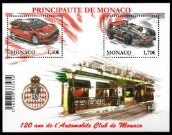 Col18  2009 Monaco N° 2705 & 2706 BF 95 Neuf XX MNH  Cote 10,50€ - Nuovi