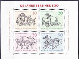 Berlin - 125 Jahre Zoo (MiNr: Bl. 2) 1969 - Postfrisch MNH - Blocks & Sheetlets
