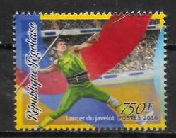 TOGO N° 5136  * * Jo 2016  Javelot - Leichtathletik