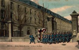 78971- Metz König Johann Kaserne 8.Bayr. Infantrie Regiment 1910 - Metz