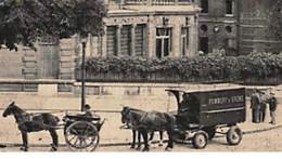 CHAMPAGNE POMMERY & GRENO REIMS - VUE DES ETS DE PARIS # PUBLICITÉ # VOITURE HIPPOMOBILE # AUTOMOBILE # (¬‿¬) ♦ - Advertising