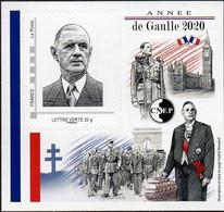 CNEP N°  85 De 2020 - Bloc Autoadhésif - Salon D'automne, Charles De_Gaulle - CNEP