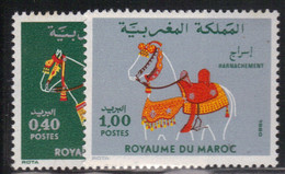 Maroc 1980 Yvert 858/59 Neufs** MNH (AE67) - Morocco (1956-...)