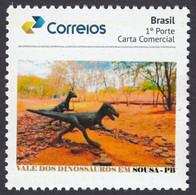 "Brazil: Personalized Stamp, Dinosaurs, Prehistoric Animals, ""Valley Of The Dinosaurs, Paraíba"" - Prehistorics"