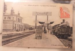 95 CHARS - La Gare, Vue Intérieure - Chars