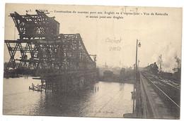 Rouen ,construction Du Nouveau Pont Aux Anglais - Rouen