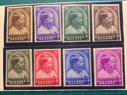 BELGIQUE - 1936 - N°438 à 445 - Sans Charnière - Cote 28€ - Unused Stamps