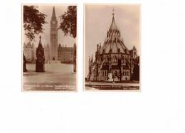 49 Different OTTAWA, Ontario, Canada Postcards. 2 RP, 2 UB, 7  WB, 1 Linen, 10 Pre-1920,1 Chrome, 4 Folders, 23 4X6 - Ottawa