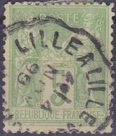 France Sage Type I  N°102 Année 1898 Oblitéré - 1898-1900 Sage (Tipo III)