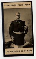 Collection Felix Potin - 1898 - REAL PHOTO - Général Poilloue De Saint-Mars - Félix Potin