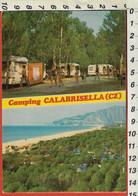 ROCCELLETTA Di BORGIA, Catanzaro, CAMPING CALABRISELLA Cartolina Animata Viaggiata 1980 - Catanzaro