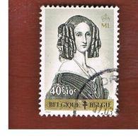BELGIO (BELGIUM)   - SG 1834  -   1962   ANTI-TBC FUND: QUEEN LOUISE-MARIE       - USED - Oblitérés