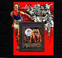 Olympische Spelen  1984 , Tschad - Blok Postfris - Ete 1984: Los Angeles