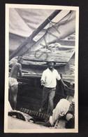 #CPA59 - Publicité - PLASMARINE -  La Biomarine -  BAHAMAS Retour De Pêche  - 1952  - Timbres BAHAMAS - Advertising