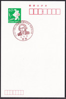 Japan Commemorative Postmark, Beethoven 250th Birth Anniversary Stamp Exhibition (jca834) - Other