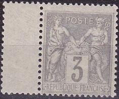 France Sage Type II  N°87 Année 1880 Neuf** - 1876-1898 Sage (Type II)