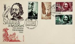 1960 Sahara Español FDC Pro Infancia - Sahara Spagnolo