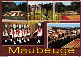 MAUBEUGE (59) - CPM 1969 MULTI VUES - PORTE DE MONS ET MONUMENT AUX MORTS - LES MAJORETTES - EDIT. LA CIGOGNE(¬‿¬) ♣ - Maubeuge