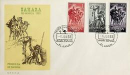 1963 Sahara Español FDC Pro Infancia - Sahara Spagnolo