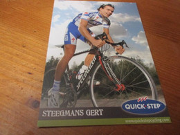 Steegmans Gert - Cycling