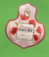 Etiquette  De Champagne  DAUBY   2002 - Champagne