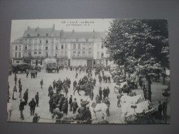 LILLE - LE MARCHE AUX CHEVAUX - E.C. - Lille
