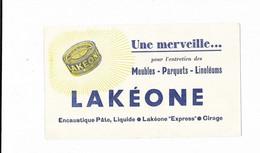BUVARD LAKEONE MEUBLES PARQUETS LINOLEUMS CIRAGE - L